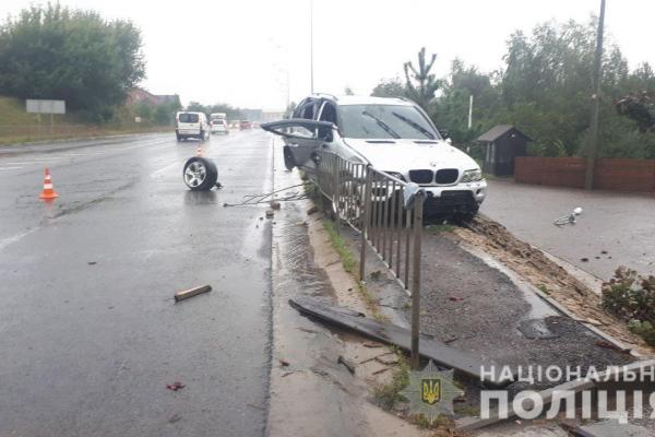 У ДТП в Рівненському районі постраждала малолітня дитина