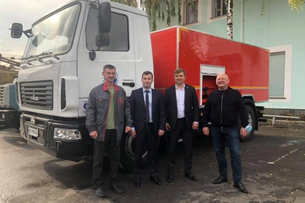 Для «Рівнеоблводоканалу» за обласні кошти придбали автомобіль вартістю 3 мільйони гривень