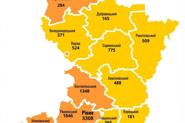 COVID-19: ситуація на Рівненщині за минулу добу