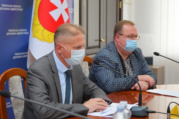У Рівненській області до прийому хворих на коронавірусну хворобу готують три додаткові лікарні