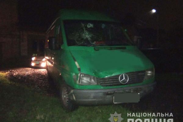 У місті Дубно нетверезий водій збив нетверезого пішохода