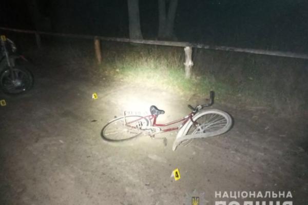 Смертельна ДТП на Рівненщині: неповнолітній мотоцикліст збив пенсіонера