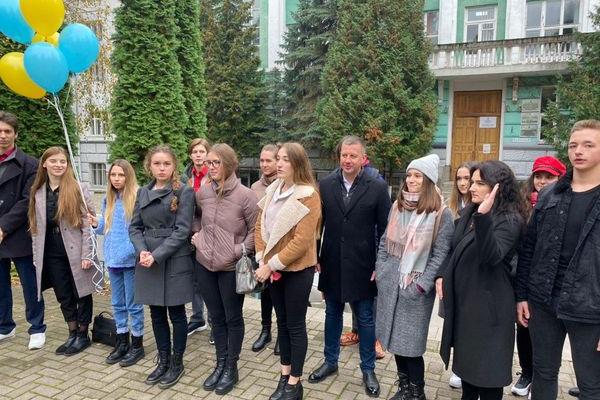 Віктор Шакирзян підтримав студентську ініціативу