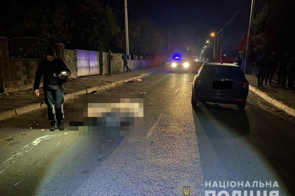 На Рівненщині в ДТП загинув пішохід