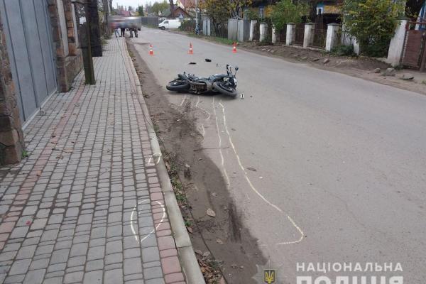 У Рокитному мотоцикл врізався у ВАЗ