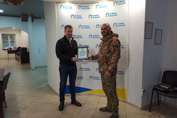 Представники генштабу відзначили роль Віктора Шакирзяна у допомозі армії