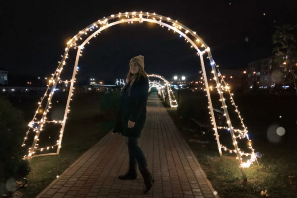 Рівненський «Тунель щастя» приваблює фотолюбителів