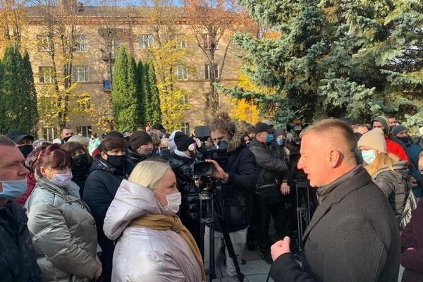 Віктор Шакирзян підтримав підприємців та їхнє законне право на працю