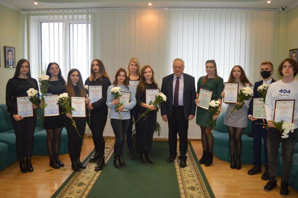 Міський голова Рівного привітав студентів