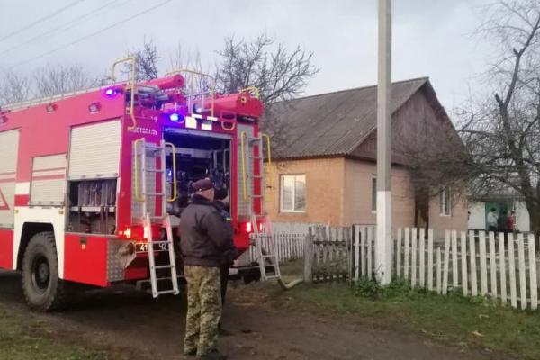 У селі Глажева під час пожежі у будинку загинув його господар
