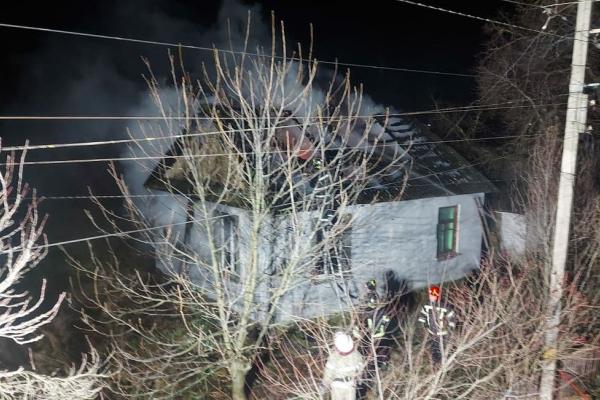В Оржеві вогнеборці врятували будинок від повного знищення