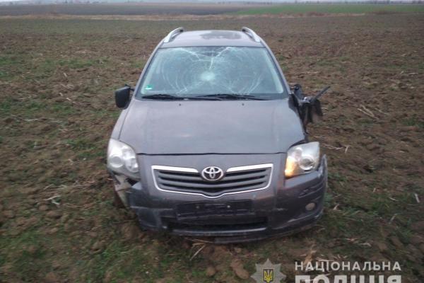 Уродженці Хмельниччини вчинили ДТП та викрали автівку на Острожчині