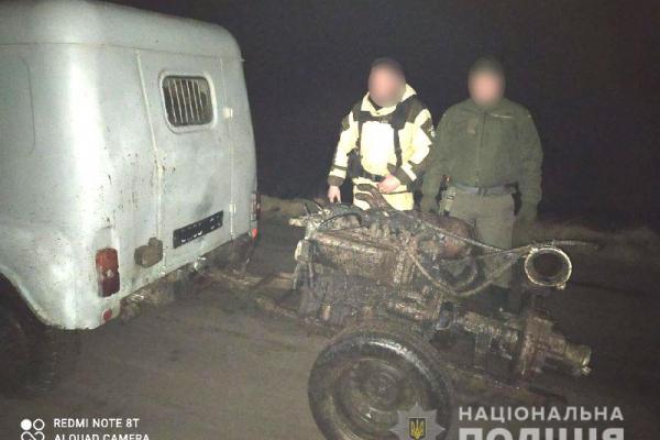 Неподалік села Мульчиці правоохоронці знайшли мотопомпу