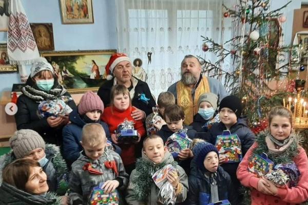 «Повстанський Миколай» привітав дітей з інвалідністю у криївці