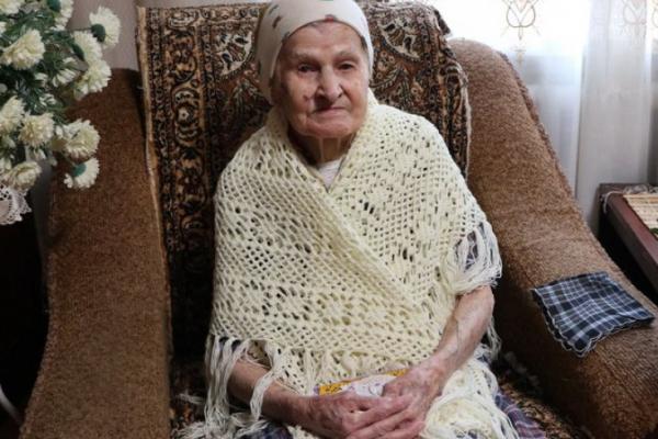Найстаршій жительці міста Вараш виповнилося сто років