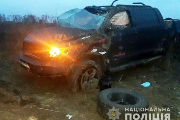 У ДТП біля села Велика Омеляна на Рівненщині загинув начальник з ГУ ДФС (ФОТО)