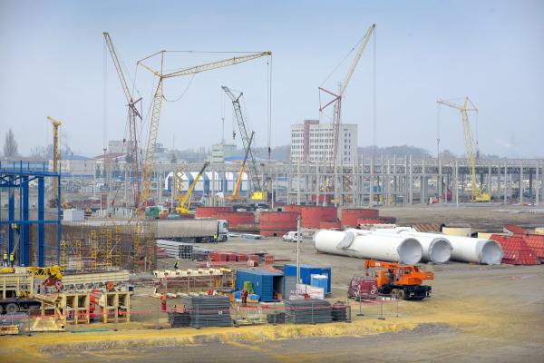 Деревообробний завод «Кроноспан» цьогоріч планує почати виробництво продукції в Городку