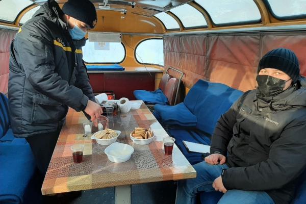 Морози посиляться: на Рівненщині встановили мобільні пункти обігріву