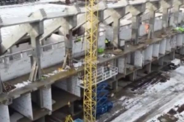 Коли планують завершити реконструкцію стадіону «Авангард» у Рівному? (ВІДЕО)
