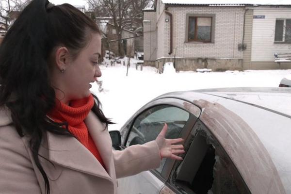 На Рівненщині журналістці пошкодили авто. Інцидент розслідує поліція