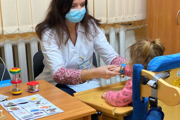 Діти з обмеженнями життєдіяльності можуть пройти реабілітацію в Рівненській обласній дитячій лікарні
