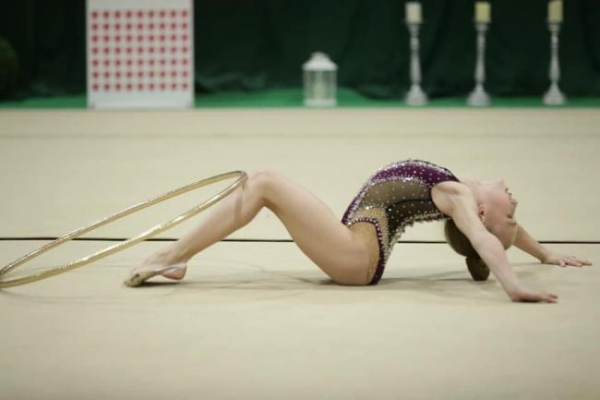 Рівненські гімнастки завоювали десятки медалей на Всеукраїнському турнірі
