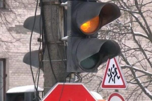 Рівненські світлофори запрацювали у спецрежимі
