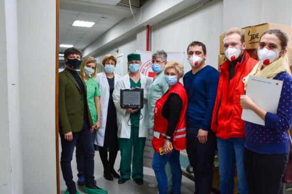 Діяльність Червоного хреста в Україні під загрозою