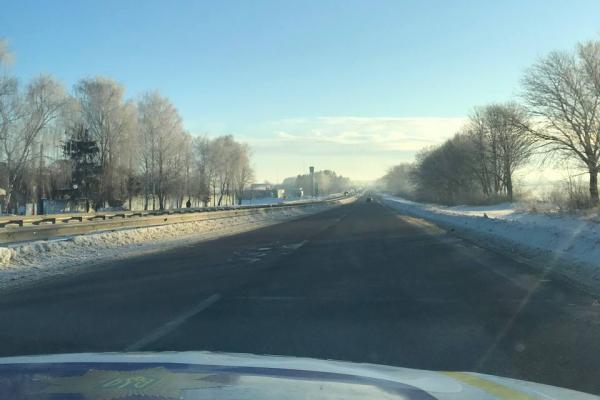 На Рівненщині техніка на дорогах працювала в -27 морозу