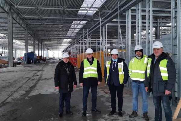 «Кроноспан Рівне» відвідав керівник урядової агенції UkraineInvest Сергій Цівкач