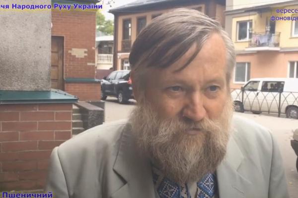 Микола Пшеничний - про зародження патріотичних об'єднань у Дубні (ВІДЕО)