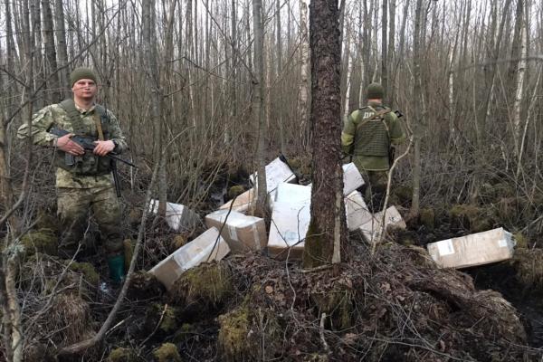 В Рівненській області прикордонники викрили оборудку зловмисників на кордоні