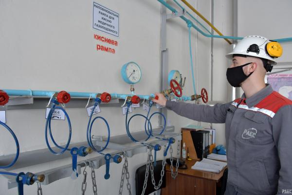 На азотно-кисневій станції Рівненської АЕС вироблятимуть медичний кисень