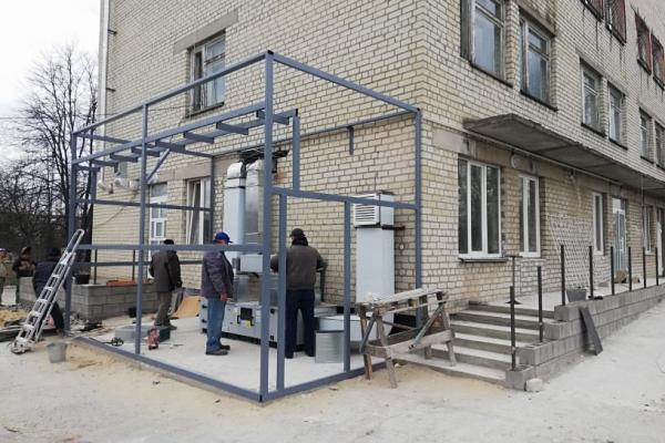 У Вараші на базі лікарні працюватиме ПЛР-лабораторія