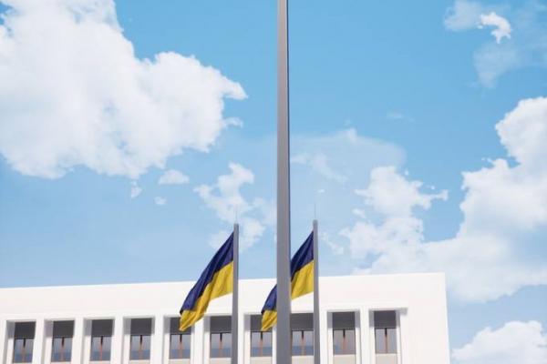 У Дніпрі, Києві, тепер – у Рівному: місто матиме найвищий прапор України