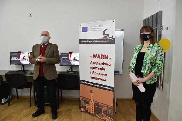 В Острозькій академії відкрили Лабораторію досліджень гібридних загроз національній безпеці