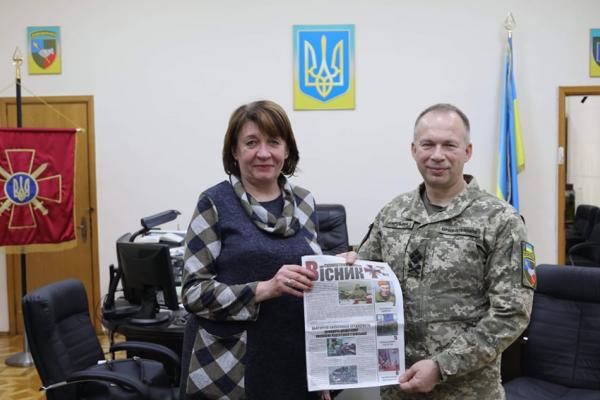 На Рівненщині відроджують фронтову пресу