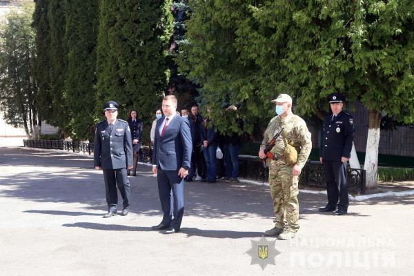 Зведений загін поліцейських Рівненщини відправився у зону ООС