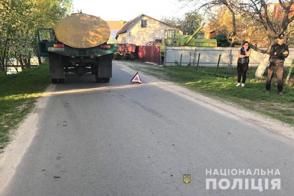 У Березному в ДТП постраждав малолітній пішохід