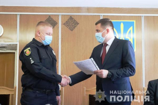 У Вараші представили начальника районного відділу поліції