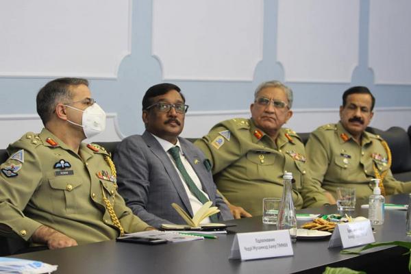 Сухопутні війська посилюють співпрацю зі Збройними Силами Ісламської Республіки Пакистан