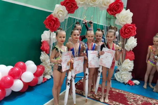 Рівненські гімнастки перемогли на Вінничині