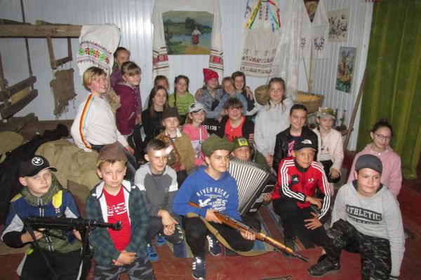 На базі центру історико-культурних ініціатив «Хата читальня» відбулася «Теренова гра» (ФОТО)