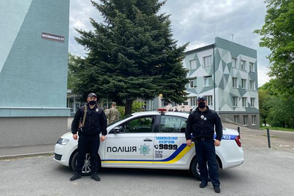 ЗНО на Рівненщині проходить під охороною поліції