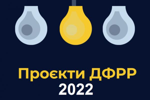 На Рівненщині стартував конкурс ДФРР-2022