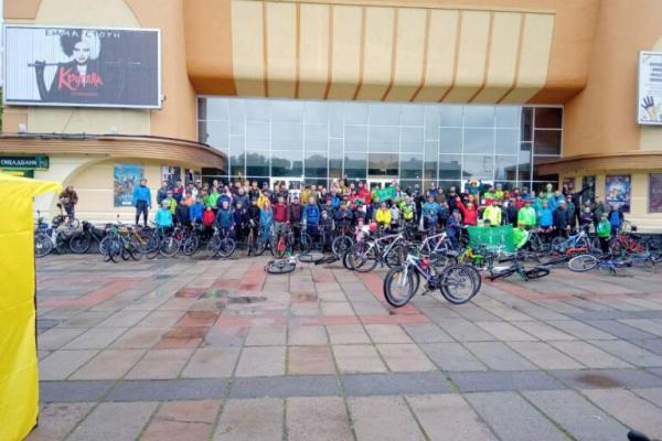 У Рівному відбувся фестиваль велоспорту
