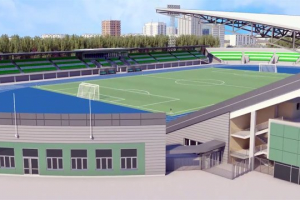 На будівництво стадіону «Авангард» у Рівномувиділили ще 100 мільйонів гривень