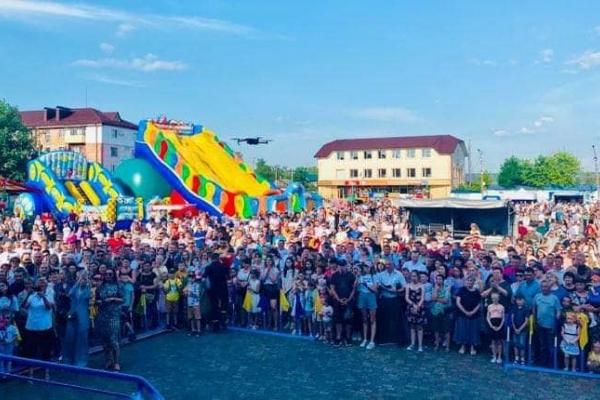 У Сарнах яскраво відсвяткували День міста(ФОТО)