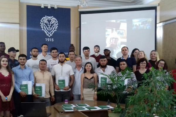 У Рівному дипломи про вищу освіту отримали студенти-іноземці