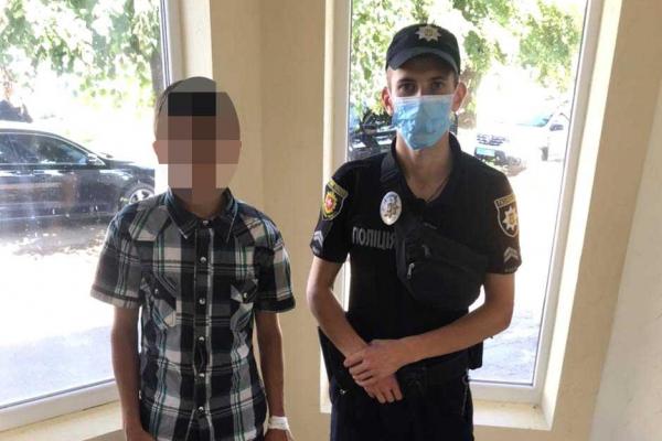 У Рівненському районі неповнолітнього поліцейські повернули до реабіліційного центру